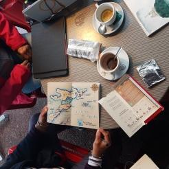 croquis aquarelle, carnet de voyage, Vieux-Port Marseille