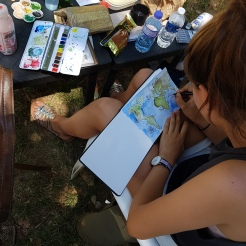 stage lyon croquis carnet de voyage dessin